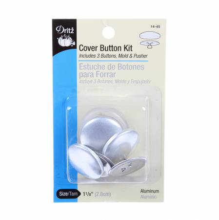 Button Cover Kit 1 1/8in