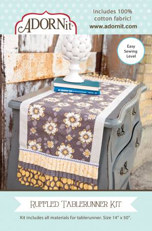 Fabric Kit Ruffled Tablerunner