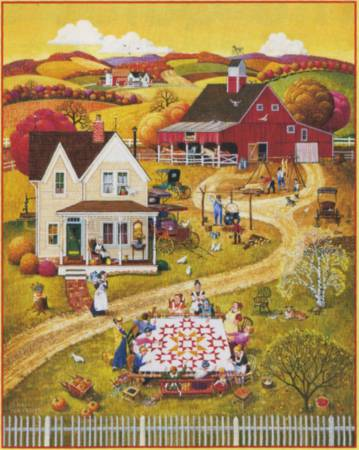 Down Home Quilting Bee 500pc