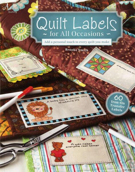 Quilt Labels for All Occasions - Softcover