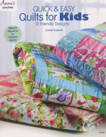 Quick & Easy Quilts for Kids - Softcover by Annie;s Quilting 141336