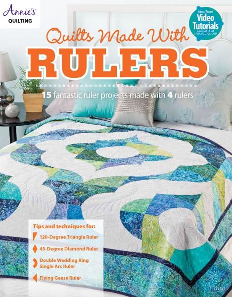 Quilts Made with Rulers