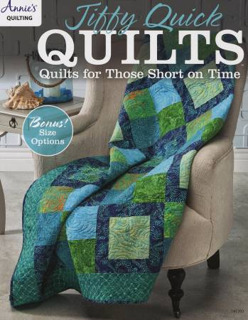BK- Jiffy Quick Quilts - Softcover