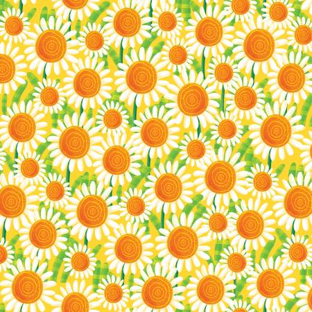 Busy Bees - Yellow Sunflowers