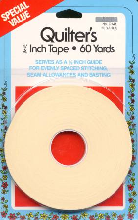 Quilter's Tape 1/4in x 60yds