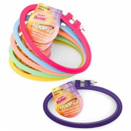 Susan Bates Hoop-La Plastic Embroidery Hoop 7-