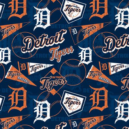 MLB Detroit Tigers Cotton