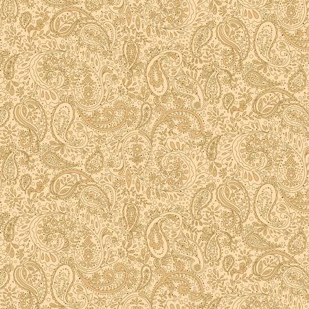 Butter Churn - Beige Small Paisley