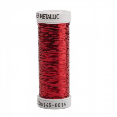 Sliver Metallic  40wt 145 - 8014 Christmas Red