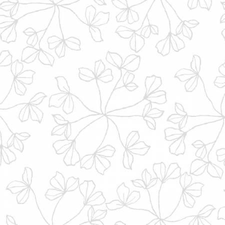 3WISH- 3W Basics White on White Floral