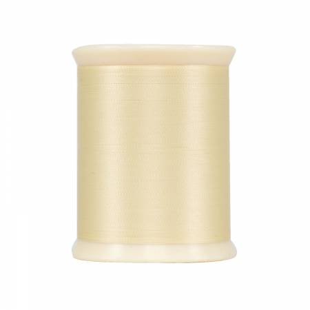 MicroQuilter Poly 100wt 800yd Spool Cream