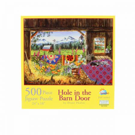 Puzzle, Hole in the Barn Door - 500pc