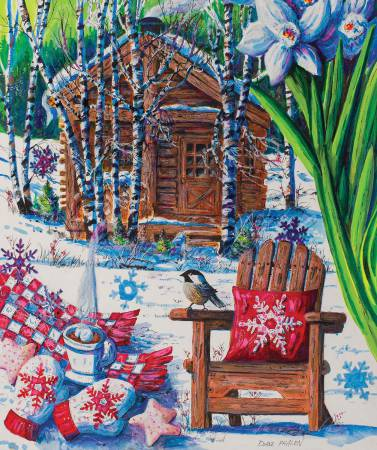 Mountain Cabin Fever Puzzle 550pc