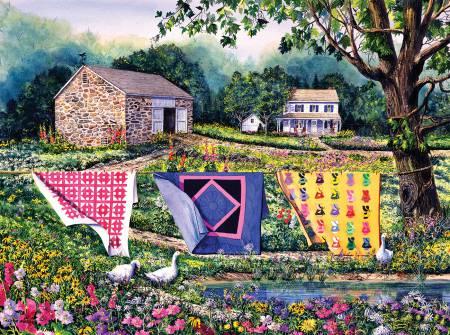 Summer Breeze Puzzle - 1000 Pieces