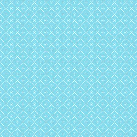 Blue Foulard Tonal