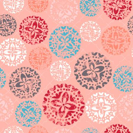 Siena SNA Coral Clay Medallions