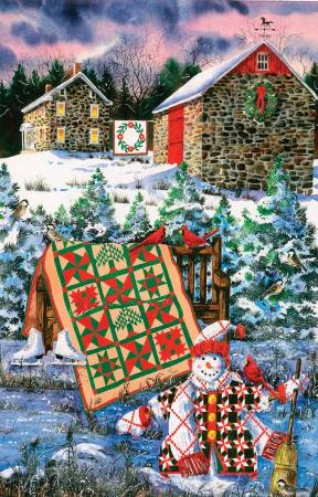 A Christmas Cheer Quilt Puzzle 1000pc