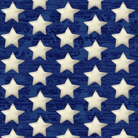 AMERICA THE BEAUTIFUL BLUE SET STARS