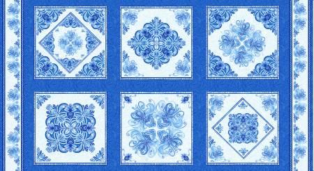 Henry Glass Blue Dream 10in x 10in Blocks