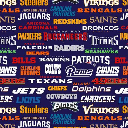 14872-D NFL All Teams Fleece (20I)
