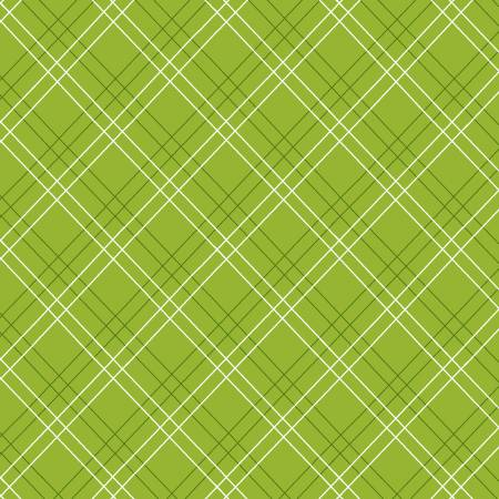 Item#12004.B - Cutie Tootie Green Diagonal Plaid - Henry Glass - Barbara Jones - Bolt#12004.B