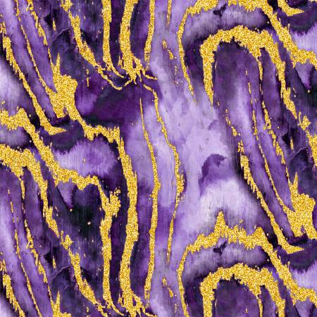 Precious Metals Purple Reef w/Metallic