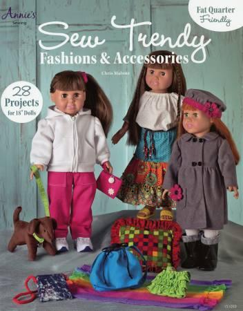 BK S Sew Trendy Fashions & Accessories for 18 Dolls