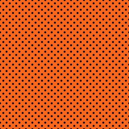 Orange w/ Black Dots Halloween