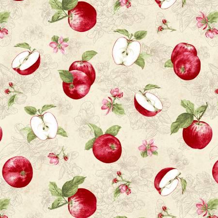 Cream Tossed Apples