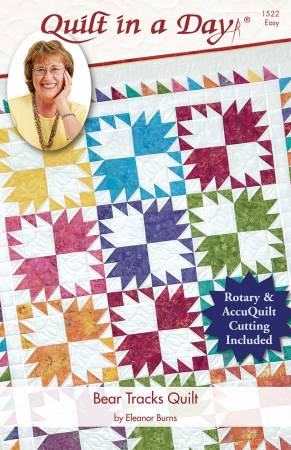 EB Bear Tracks Quilt for Rotary & AccuQuilt