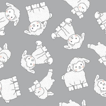 Little Grey Lamb Comfy Flannel