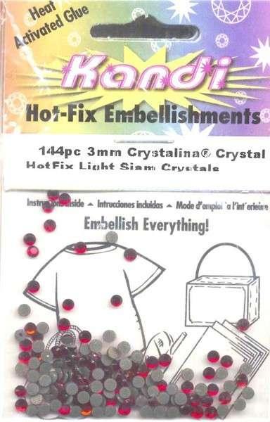 Hot Fix Crystals 2mm Crystal AB
