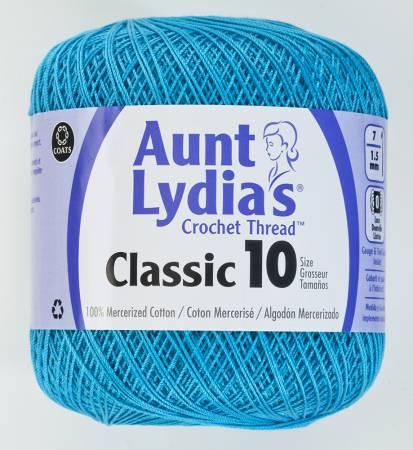 Aunt Lydia Crochet Thread Size 10 Parakeet