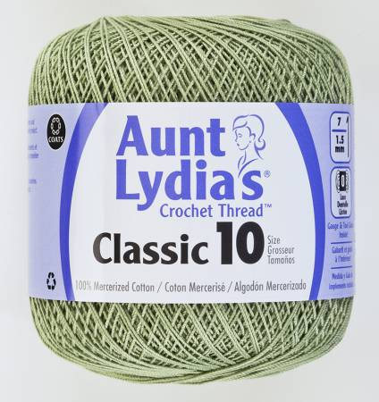AUNT LYDIA'S CLASSIC 10 FROSTY GRN