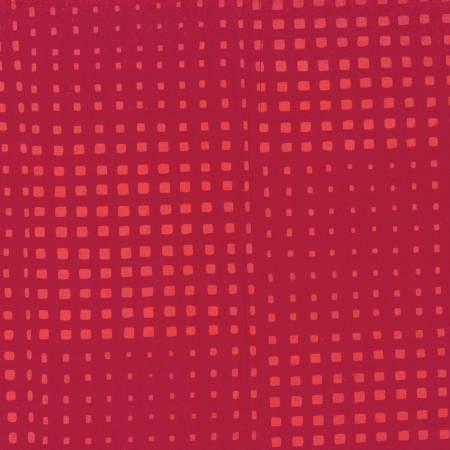 Batik Hand-dyed - Deep Red