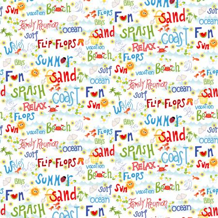 Celebrate Summer Multi Words