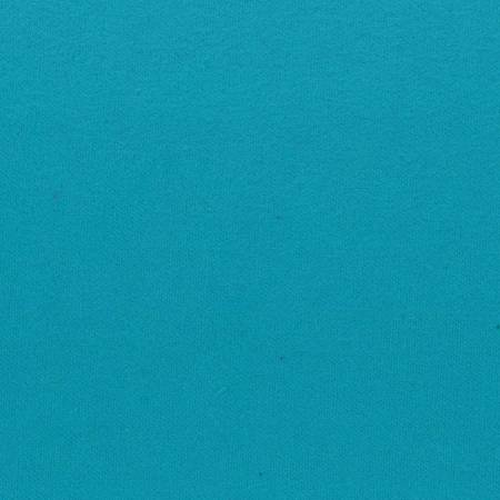 Turquoise Solid Flannel Heavyweight 6.6oz per sq yd