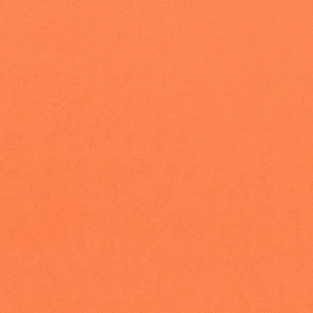 Orange Solid Flannel Heavyweight 6.6oz per sq yd