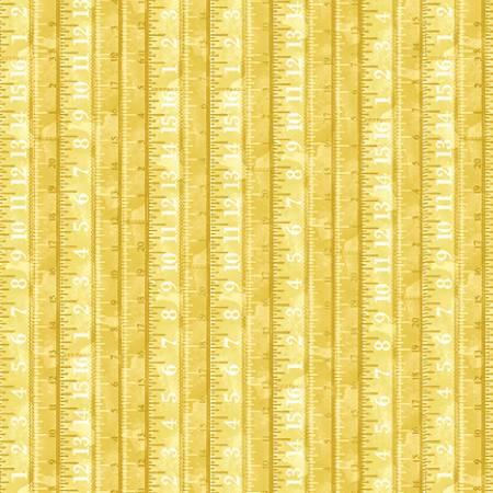 Yellow Tape Measure Allover