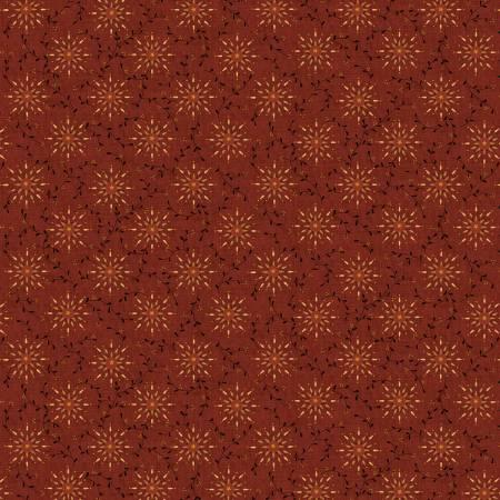 Liberty Stars - Deep Red Starburst