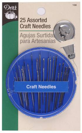 Prym Dritz Assorted Craft Needles in Dispenser 25ct