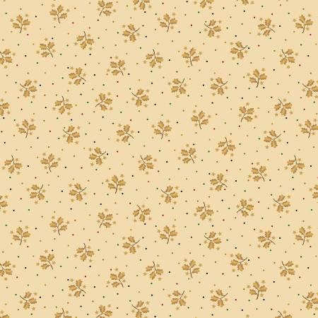 Liberty Star Cream Sprigs & Stars