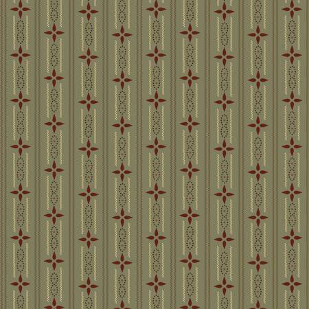 Henry Glass Kim Diehl Esther's Aqua Wallpaper Stripe 1599 11