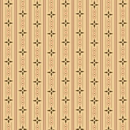 Henry Glass Kim Diehl Esther's Cream Wallpaper Stripe 1599 44