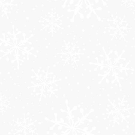 Ultra White White on White Snowflakes