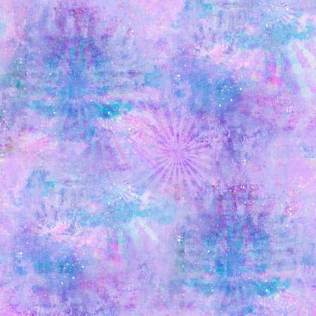 Purple Ray Texture Digitally Printed