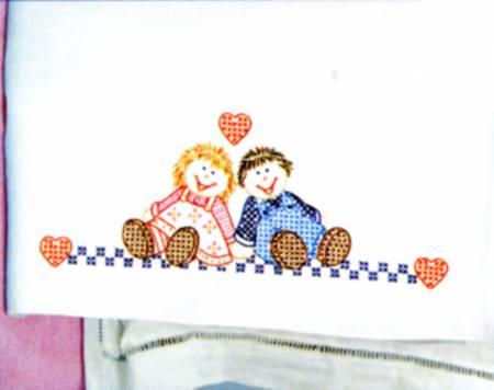 1605-117 Ann & Andy Childrens Pillowcase