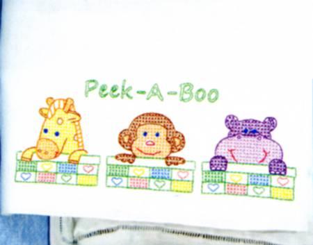 1605-124 Peek A Boo Childrens Pillowcase