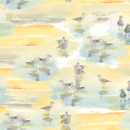 AT THE SHORE SANDPIPERS