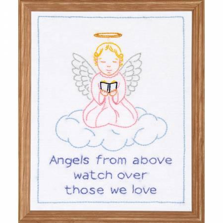 Precious Angel Sampler 8in X 10in